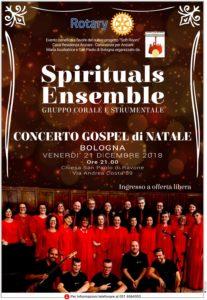 Locandina Spirituals Ensamble